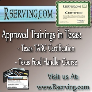 TX Bartender license